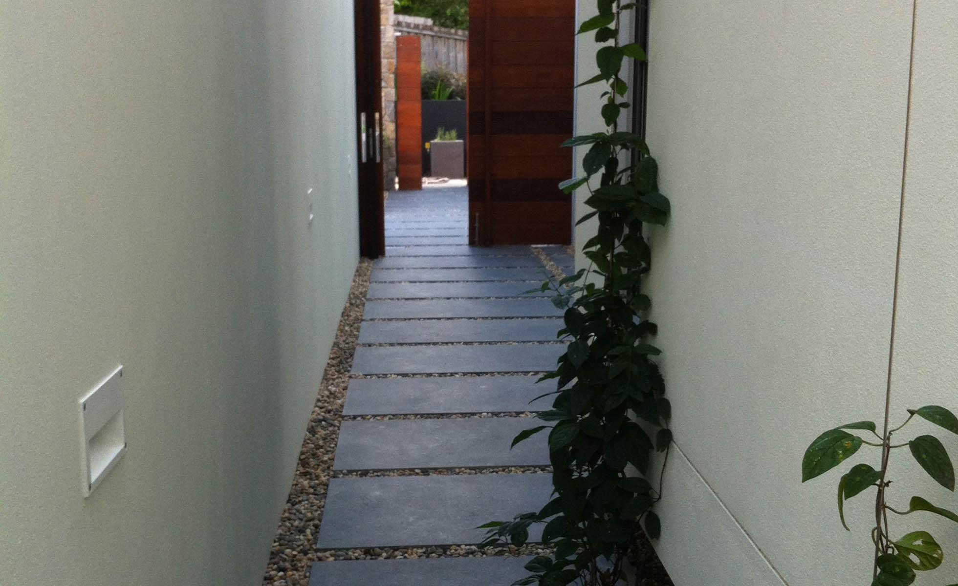 Paving-side-garden
